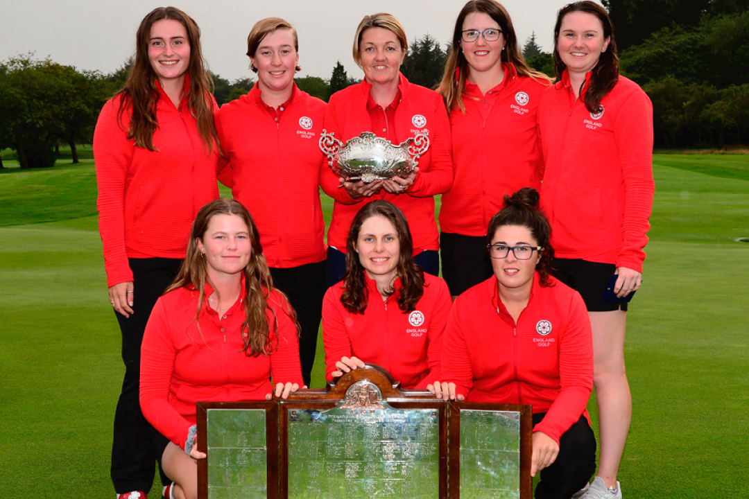 England Women win Home Internationals