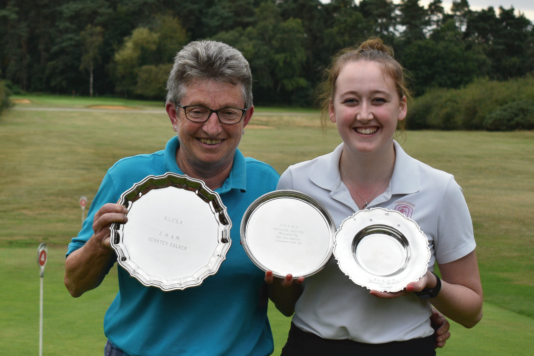 Sian wins tops three prizes